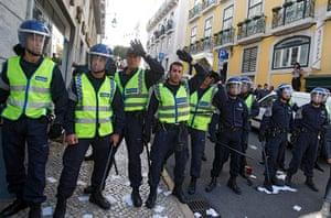 Patricia Melo: PORTUGAL-LABOUR-STRIKE-POLICE