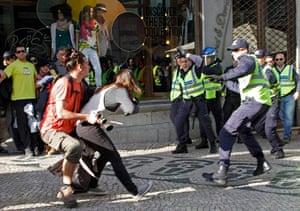Patricia Melo: A policeman strikes AFP photojournalist