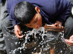 World Water Day: Water Day in the outskirts of Srinagar