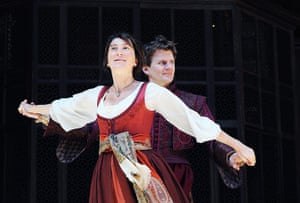 10 Best: Eve Best as Beatrice in Much Ado About Nothing