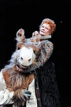 10 Best: Judi Dench (Titania) and Oliver Chris (Bottom) in A Midsummer Night's Dream