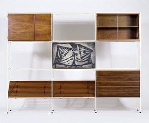 British Design at V&A: British Design at V&A - Room divider at V&A