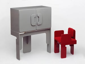 British Design at V&A: British Design at V&A - Cabinet and Chair