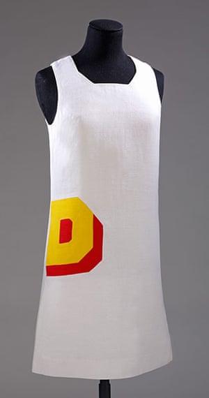British Design at V&A: British Design at V&A - Double D mini dress vy Foale & Tuffin