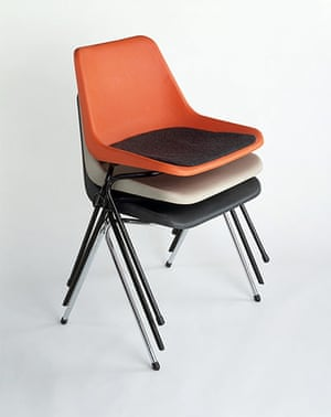 British Design at V&A: British Design at V&A - Mark II Chairs by Robin Day