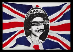 British Design at V&A: British Design at V&A - God Save The Queen Poster by Jamie Reid