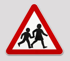 British Design at V&A: British Design at V&A - Children's Crossing Sign by Calvert & Kinneir