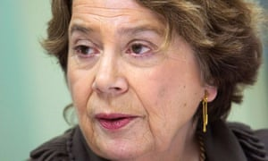 Arts Council England chair, Dame Liz Forgan, who has been asked to step down when her term ends