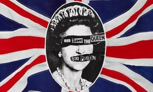 British Design at V&A - God Save the Queen poster by Jamie Reid