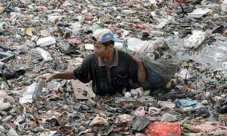 Plastic pollution in Indonesia