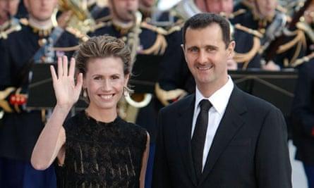 Asma and Bashar al-Assad