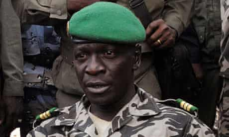 Mali Captain Amadou Sanogo