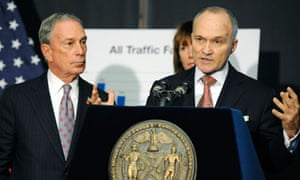 Michael Bloomberg and NYPD commissioner Ray Kelly