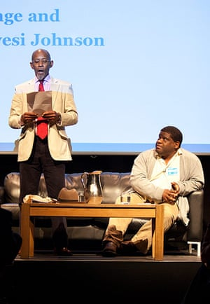 Guardian Open Weekend: Linton Kwesi Johnson in coversation with Gary Young in Kings Place