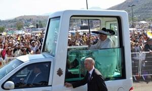 Pope Benedict Mexico