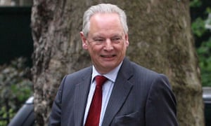 Francis Maude, outside 10 Downing Street, which he says is David Cameron's private residence