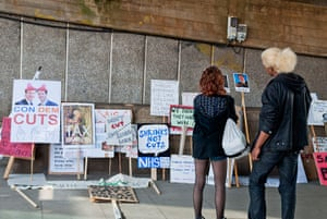 Placard gallery: Hundreds stopped by the exhibition