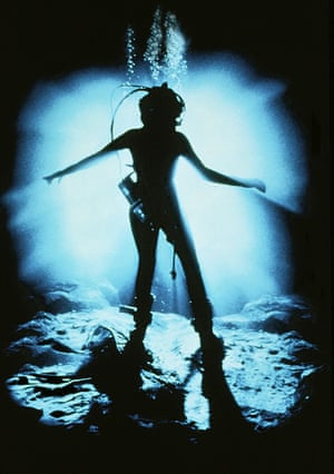 """Scene from James Cameron's film """"The Abyss"""""""