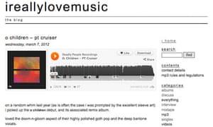 Music blog ireallylovemusic