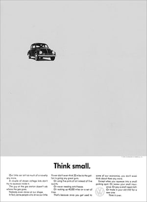 The Real Mad Men: VW - Think Small