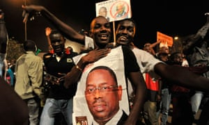 Macky Sall supporters