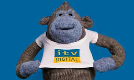 ITV Digital monkey