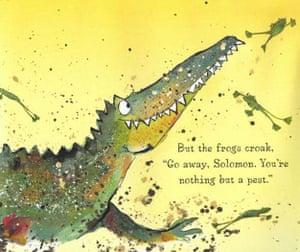 Catherine Rayner's Solomon Crocodile