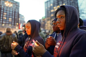 Trayvon Martin marches: University of Pennsylvania students light candles