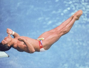 Olympic moments: OLY 1988-DIVING-LOUGANIS