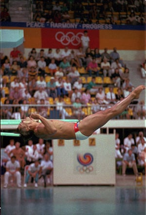 Olympic moments: diving