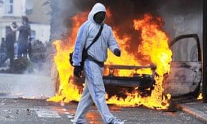 Rioting in Hackney, London, Britain - 08 Aug 2011