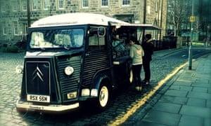 The Elephant Juice soup van in Edinburgh