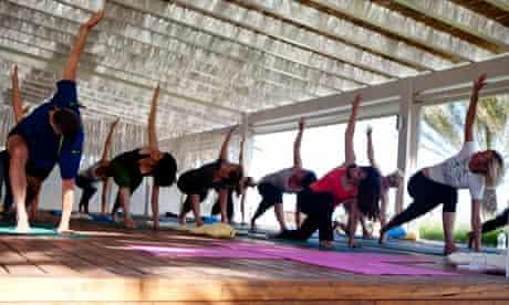 Formentera Yoga class