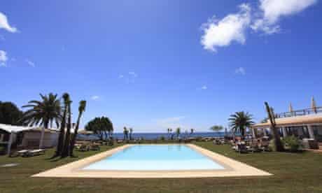 Pool at the Gecko Beach Club, Formentera