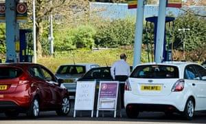 Petrol station in Bristol