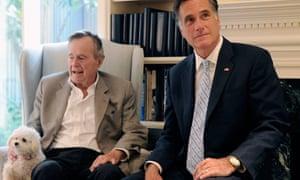 bush romney endorsement