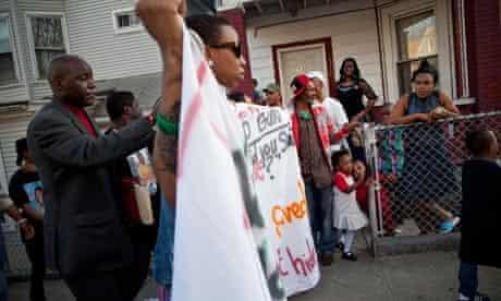 Ramarley Graham Bronx march