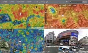 DECC heat map interactive