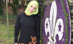 New Muslim girls Scouts clothing