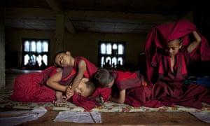 Monastic Life In Thimphu Bhutan