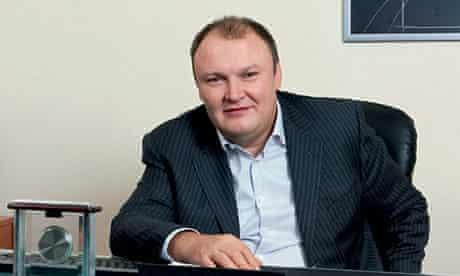 Russian banker German Gorbuntsov who was shot in east London