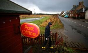 Ponyntzfield Post Office in Inverness, Scotland