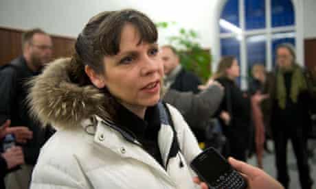 Birgitta Jonsdottir, Icelandic MP