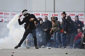 Barcelona: General Strike Hits Spain