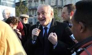French Presidential candidate Jacques Cheminade