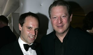 Jeff Skoll with former US vice-president Al Gore