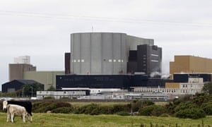 The Wylfa nuclear power station in Anglesey.