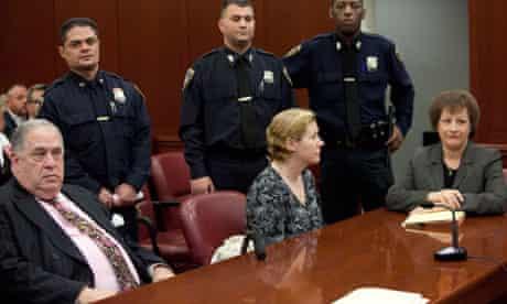 Anna Gristina, alleged prostitution ring madam, in court, New York