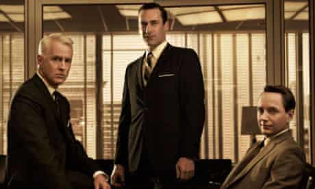 The perfectly groomed chaps from Mad Men