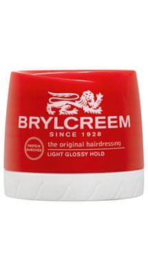 The original Brylcreem cream, £3.29, brylcreem.com